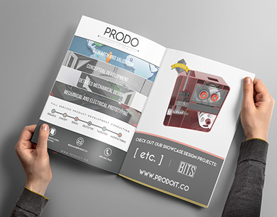 Prodo Innovation Team: Branding, Print, and Web Design
