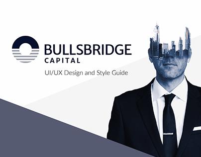UX/UI Design for Bullsbridge Capital