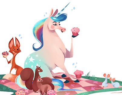 Unicorn and Horse