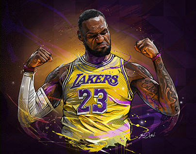 LEBRON JAMES -NBA X ENTERBAY