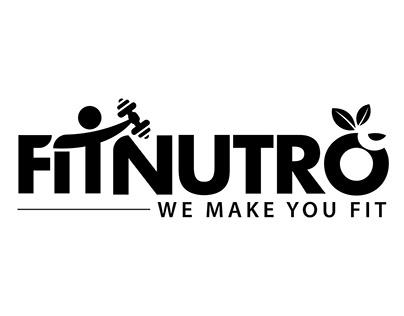 FITNUTRO - HEALTH APP LOGO