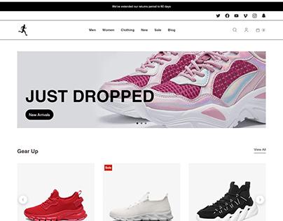 Store design By Shopify Retina Theme