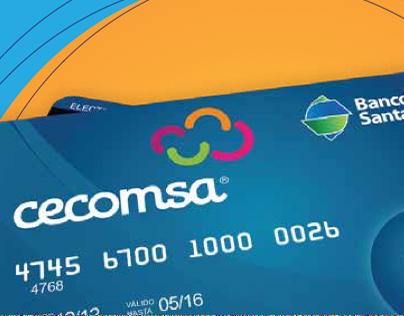 Tarjeta de crédito Cecomsa & Banco Santa Cruz