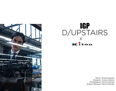 IGP D/UPSTAIRS x KITON