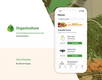 Organiculture iOS App