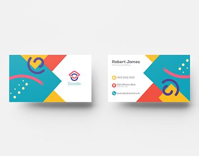 Doodle Business Card Design