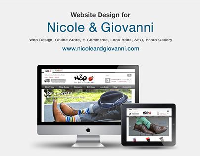 Nicole & Giovanni - Web Design