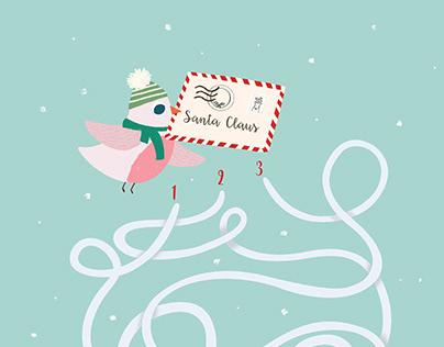Mon livre d'activités Noël - My Christmas activity book