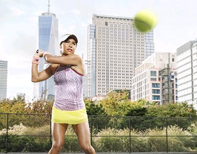 Tennis portraits