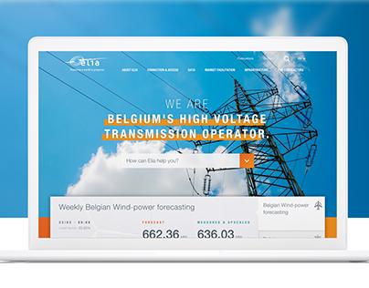 Elia - Redesign Public Website