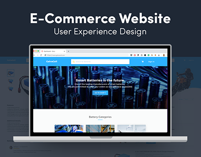 E-Commerce Website | GalvaCell
