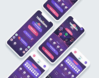 Tabumanya Mobile Game New Mode UI Design