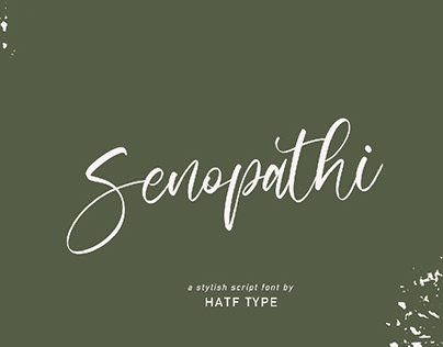 SENOPATHI - FREE FONT