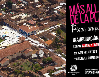 """Banner """"Más allá de la plaza"""""""