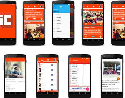 UX Case Study: inCollege Social App