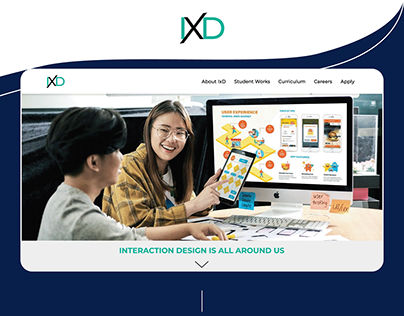 IxD Website & Mobile UI Design