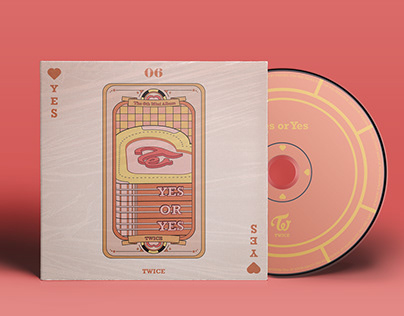 TWICE - Yes or Yes Artwork Album Cover