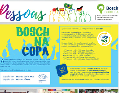 """Bosch - publicação interna """"Pessoas"""""""