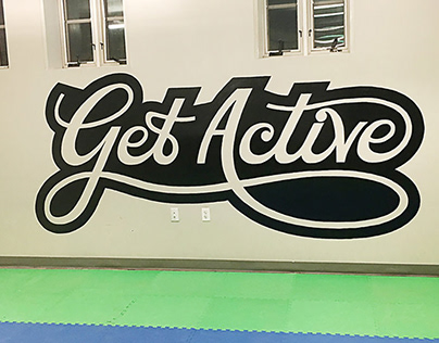 Get Active Mural