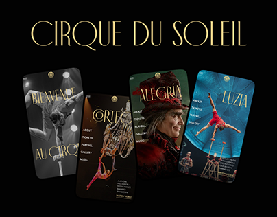 Cirque du Soleil — redesign