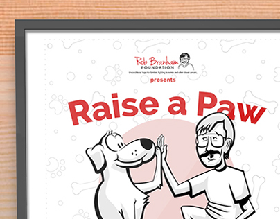 [Volunteer] Rob Branham Foundation Event Poster