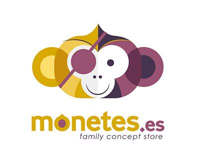 Logotipo - Monetes