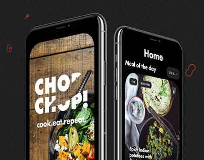 Chop Chop - a recipe app for millennials