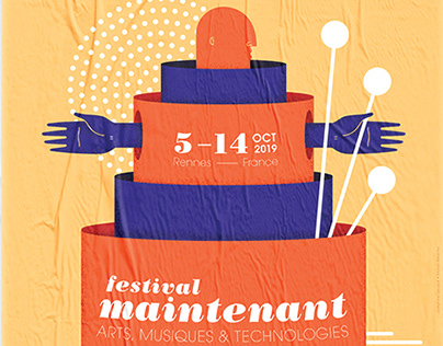 Festival Maintenant 2019 // Visual identity & webdesign