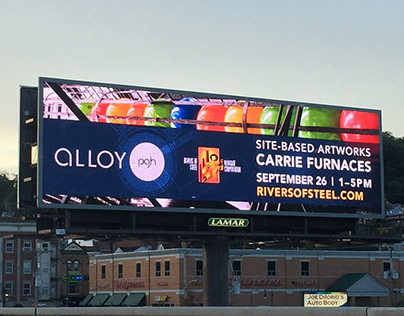 Billboard designs for Rivers of Steel