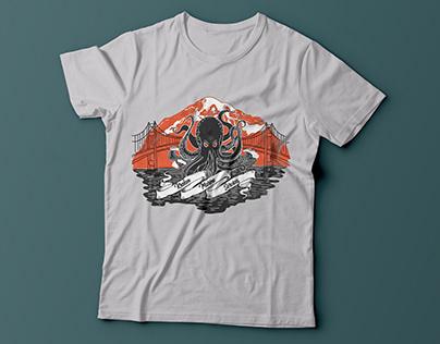 Illustrated T-shirts