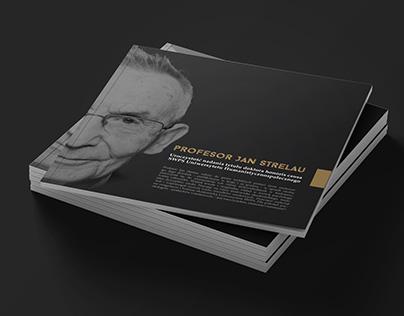 Jan Strelau Doctor Honoris Causa commemorative brochure