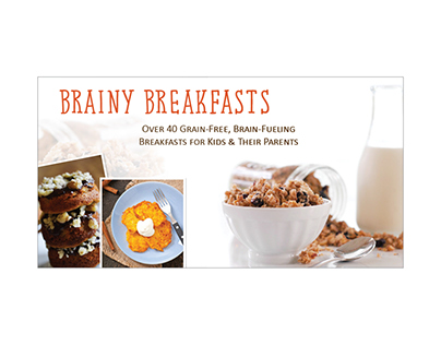 Brainy Breakfast Ad Set of 3