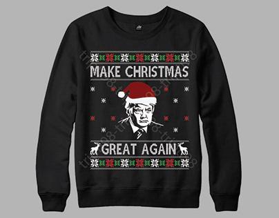 MAKE CHRISTMAS GREAT AGAIN UGLY CHRISTMAS SWEATER