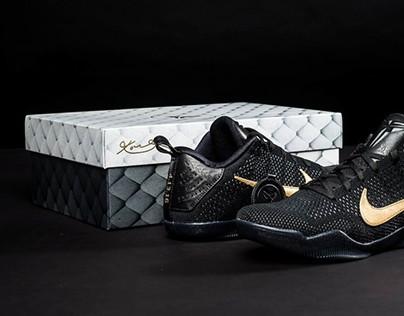 Nike Kobe Fade to Black Shoebox