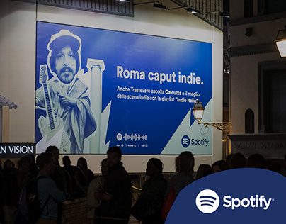 Spotify - Calcutta OOH