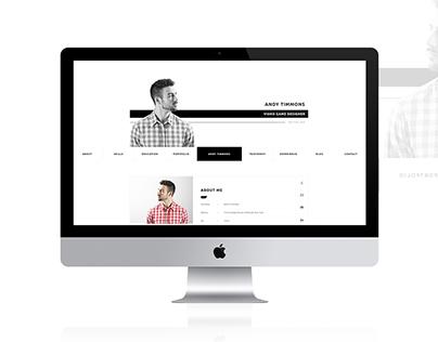 CVitae - Responsive Materialized Resume Intro 6