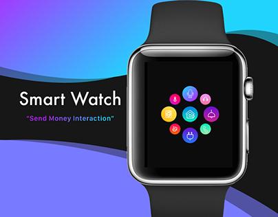 Smart Watch App: Interactive Prototype & Screen Designs