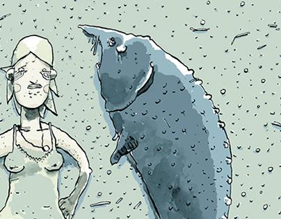 Wojna nie ma w sobie nic z kobiety fragment komiks