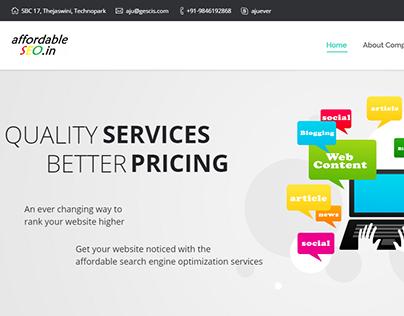 Affordable SEO Website
