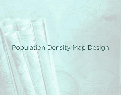 Population Density Map Design