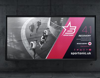 Sportonic - Sports Drinks - Branding