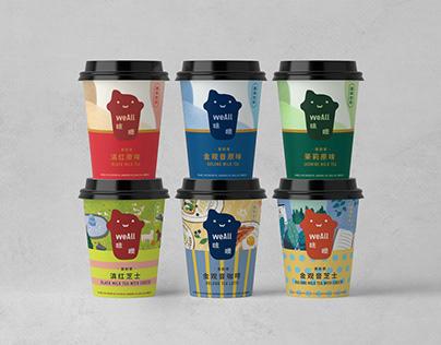 WeAll Packaging Design