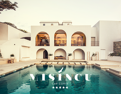 Misíncu 5* Hotel — branding & webdesign
