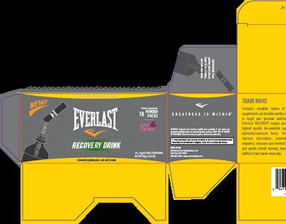 Everlast Nutrition Packaging Design