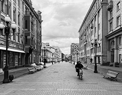 Moscow in the period of self-isolation