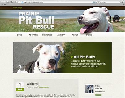 Prairie Pit Bull Rescue Website