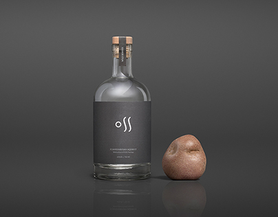 Oss Craft Distillery - Visual identity/Branding