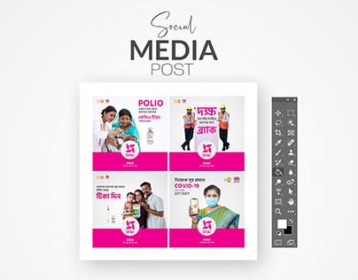Social Media Design for BRAC NGO
