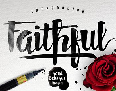 Faithful Typeface