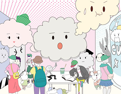 Mr.cloud's room